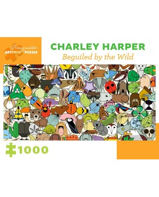 Puzzle Pomegranate - Charley Harper: Beguiled by Wild, 1000 piese (AA1019)