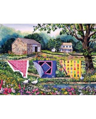 Puzzle SunsOut - Diane Phalen: Summer Breeze, 1.000 piese (Sunsout-14610)