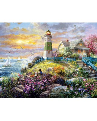 Puzzle SunsOut - Nicky Boehme: A Lighthouse Memory, 1.000 piese (Sunsout-19309)