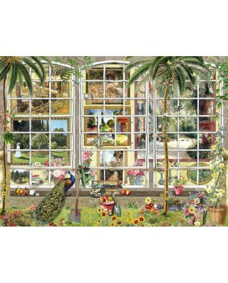 Puzzle SunsOut - Barbara Behr: Gardens in Art, 1.000 piese (Sunsout-27250)