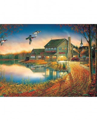 Puzzle SunsOut - Sam Timm: Duck Inn, 1.000 piese (Sunsout-29037)