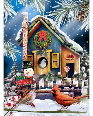 Puzzle SunsOut - Lori Schory: Visiting for the Holidays, 1.000 piese (Sunsout-34929)