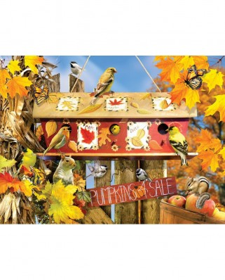 Puzzle SunsOut - Lori Schory: Fall Leaves, 1.000 piese (Sunsout-35004)