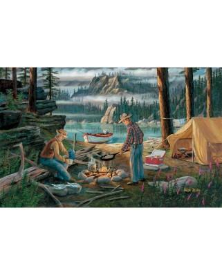 Puzzle SunsOut - Ken Zylla: Alaska Adventure, 550 piese (Sunsout-39697)