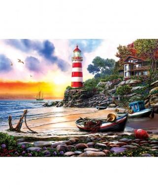 Puzzle SunsOut - Lighthouse Harbor, 1000 piese (Sunsout-42925)