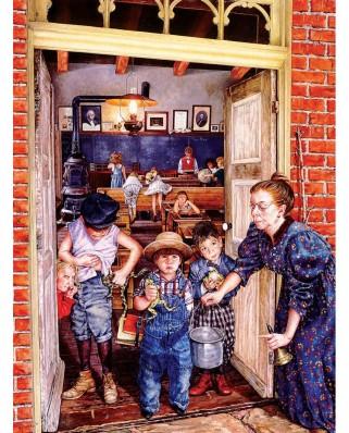 Puzzle SunsOut - Susan Brabeau: Her Little Rascals, 1.000 piese (Sunsout-44655)