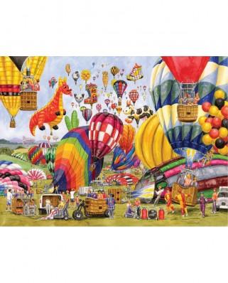 Puzzle SunsOut - Gale Pitt: Balloon Landing, 1.000 piese (Sunsout-52406)