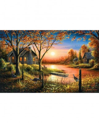 Puzzle SunsOut - Chuck Black: Glorious Sunset, 550 piese (Sunsout-55140)