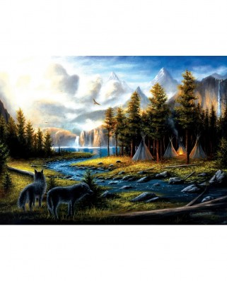 Puzzle SunsOut - Chuck Black: Living Wild, 1.000 piese (Sunsout-55176)