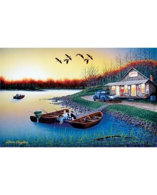 Puzzle SunsOut - Don Engler: Jack's Place, 550 piese (Sunsout-60370)