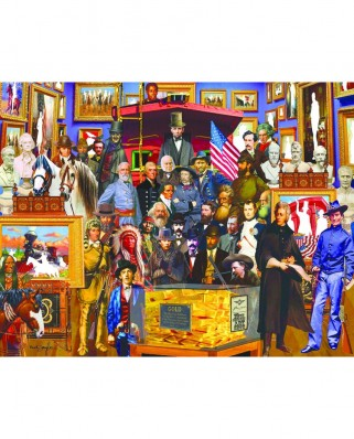 Puzzle SunsOut - Neal Taylor: 19th Century History, 1.000 piese XXL (Sunsout-61504)