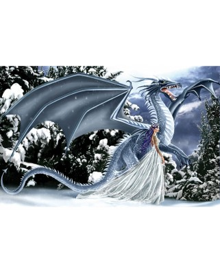 Puzzle SunsOut - Nene Thomas: Ice Dragon, 1.000 piese (Sunsout-67696)
