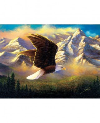 Puzzle SunsOut - Abraham Hunter: Flying High, 1.000 piese (Sunsout-69636)