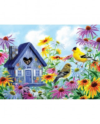 Puzzle SunsOut - Abraham Hunter: Tweethearts, 1.000 piese (Sunsout-69667)