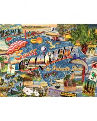Puzzle SunsOut - Ward Thacker Studio: South Carolina, 1.000 piese (Sunsout-70029)