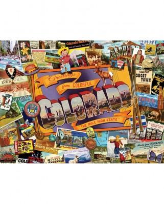 Puzzle SunsOut - Ward Thacker Studio: Mile High Colorado, 1.000 piese (Sunsout-70034)
