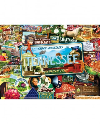 Puzzle SunsOut - Kate Ward Thacker: Tennesse, 1.000 piese (Sunsout-70046)