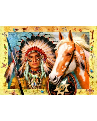 Puzzle Bluebird - Indian Chief, 1500 piese (70284)