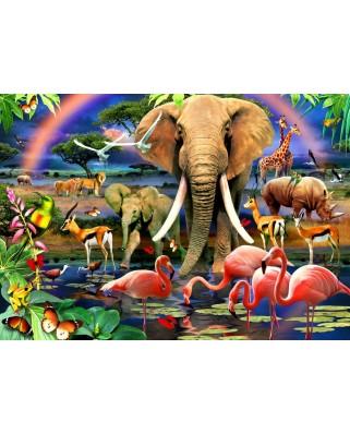 Puzzle Bluebird - African Savannah, 1500 piese (70286)