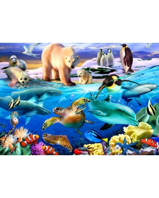 Puzzle Bluebird - Oceans of Life, 1.000 piese (70288)