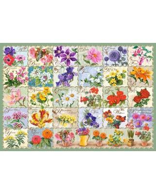 Puzzle Castorland - Vintage Floral, 1.000 piese (104338)
