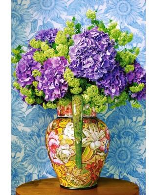 Puzzle Castorland - Bouquet of Hydrangeas, 1000 piese (104352)