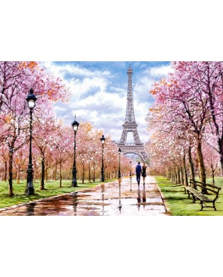 Puzzle Castorland - Romantic Walk in Paris, 1.000 piese (104369)