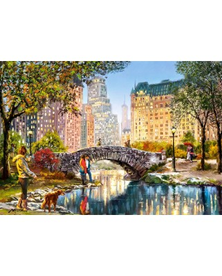 Puzzle Castorland - Evening Walk Through Central Park, 1.000 piese (104376)