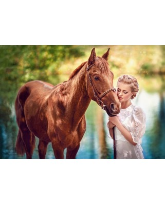 Puzzle Castorland - Beauty and Gentleness, 1.000 piese (104390)