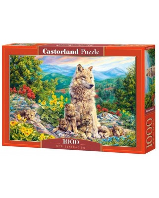 Puzzle Castorland - New Generation, 1.000 piese (104420)