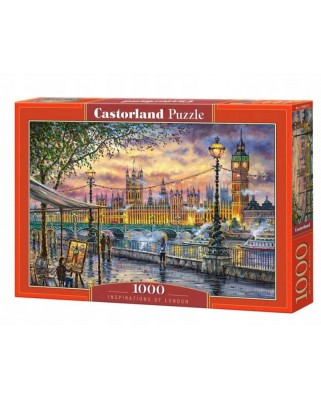 Puzzle Castorland - Inspirations of London, 1.000 piese (104437)