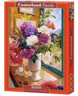 Puzzle Castorland - Still Life with Hydrangeas, 1.000 piese (104444)