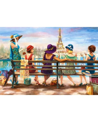 Puzzle Castorland - Girls Day Out, 1.000 piese (104468)