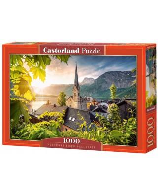 Puzzle Castorland - Postcard from Hallstatt, 1.000 piese (104543)