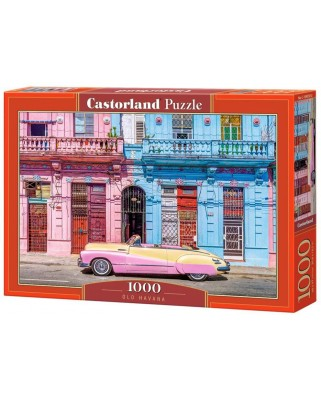 Puzzle Castorland - Old Havana, 1.000 piese (104550)