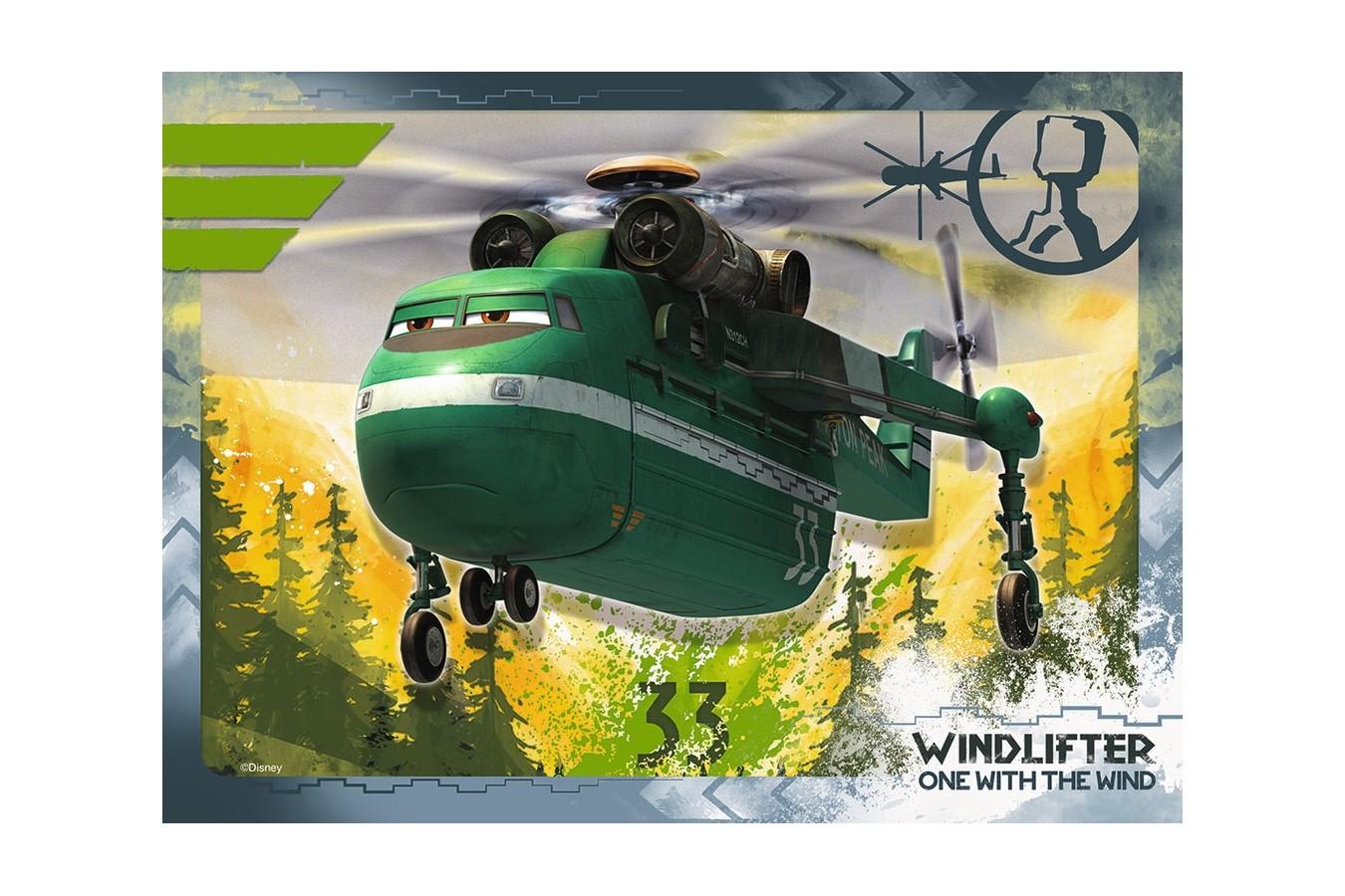 Puzzle Ravensburger - Disney Planes 2, 12/16/20/24 piese (07357)
