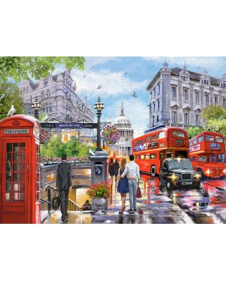 Puzzle Castorland - Spring in London, 2000 piese (200788)