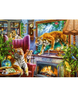 Puzzle Castorland - Tigers Coming to Life, 3.000 piese (300556)