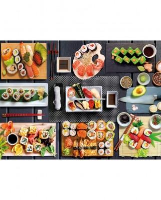 Puzzle Clementoni - Sushi, 500 piese (35064)