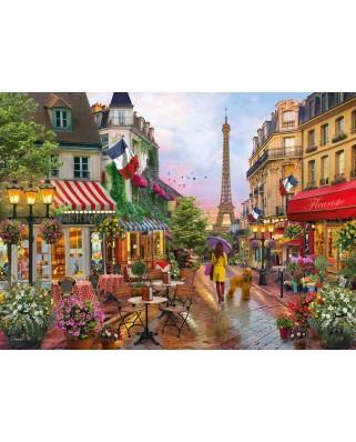 Puzzle Clementoni - Flowers in Paris, 1.000 piese (39482)
