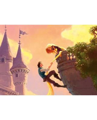 Puzzle Clementoni - Rapunzel, 1.000 piese (39490)