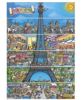 Puzzle Dino - Paris, France, 500 piese (50237)