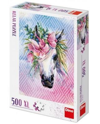 Puzzle Dino - Unicorn, 500 piese XXL (51403)