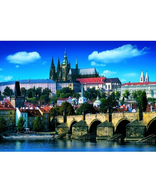 Puzzle Dino - Charles Bridge, Prague, 1.000 piese (53150)