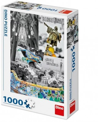 Puzzle Dino - Barcelona, Spain, 1000 piese (53267)
