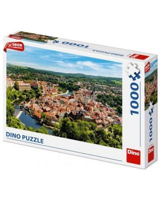 Puzzle Dino - Cesky Krumlov, Czech Republic, 1.000 piese (53268)