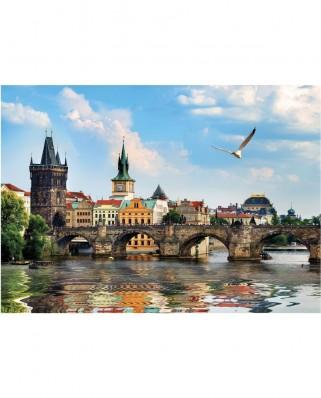 Puzzle Dino - Charles Bridge, Prague, 1.000 piese (53273)