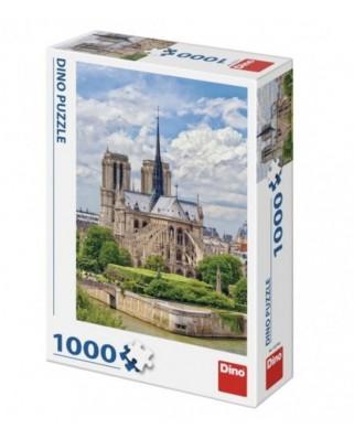 Puzzle Dino - Cathedrale Notre-Dame de Paris, 1.000 piese (53274)
