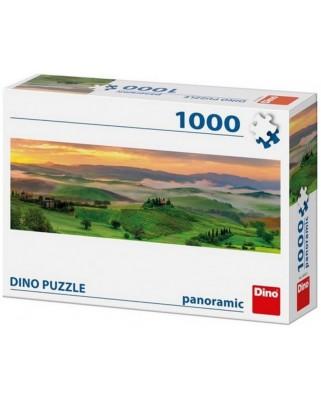 Puzzle panoramic Dino - Sunset, 1.000 piese (54540)