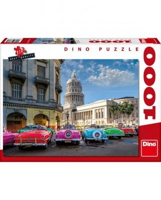 Puzzle Dino - Cuba, 1.000 piese (68376)